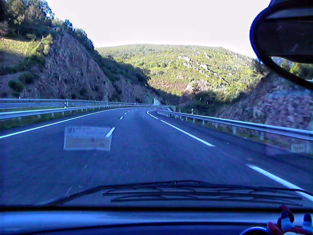 180 nuova autostrada verso Burgos