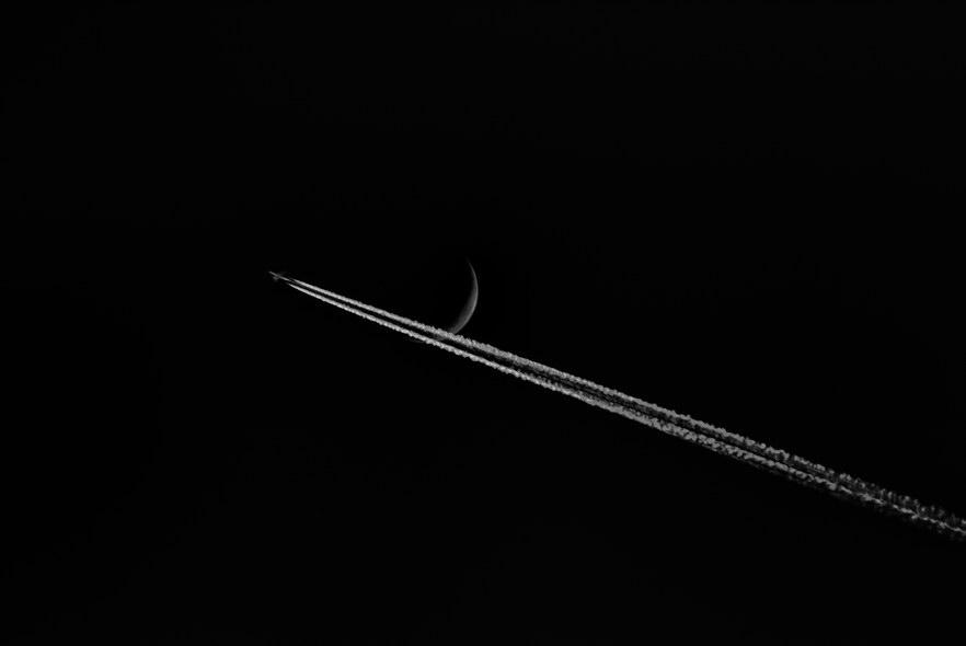 Aereo e Luna 3a