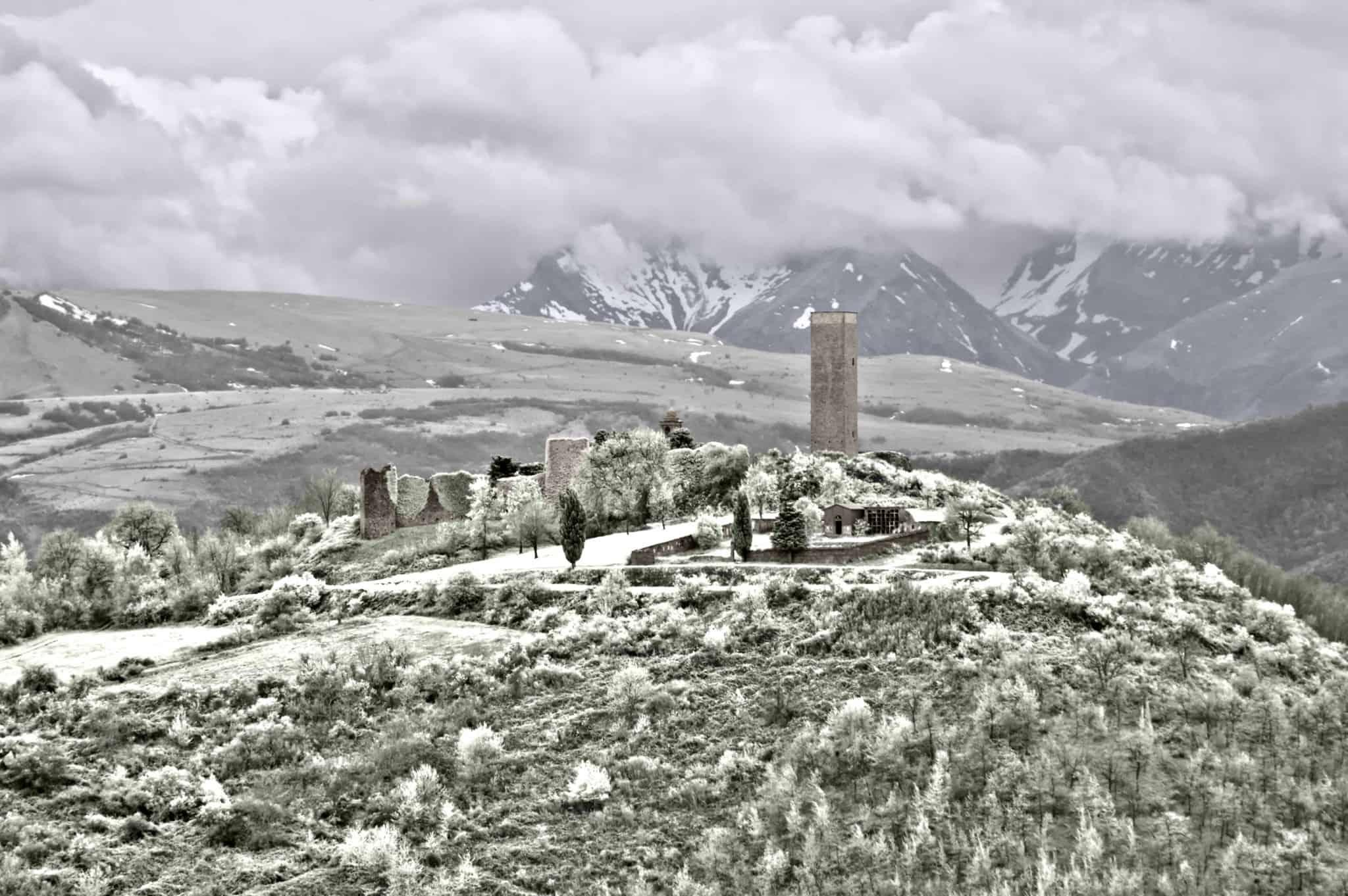 Castello di Pitino 40x60